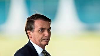 Die Organisation Human Rights Watch wirft dem brasilianischen Präsidenten Jair Bolsonaro vor, den Kampf gegen das Coronavirus zu sabotieren. (Archivbild)