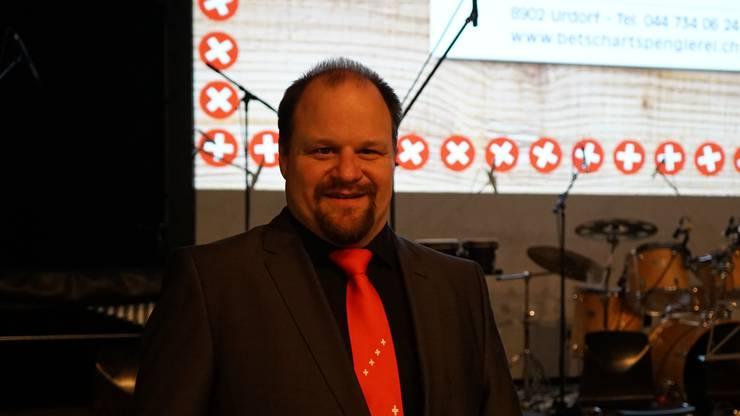 Christian Bachmann Dirigent der Harmonie Urdorf