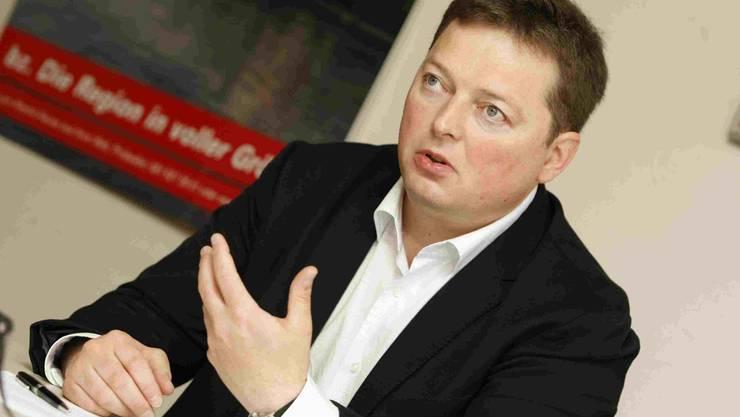 Rolf Richterich, neuer FDP-Fraktionspräsident im Landrat