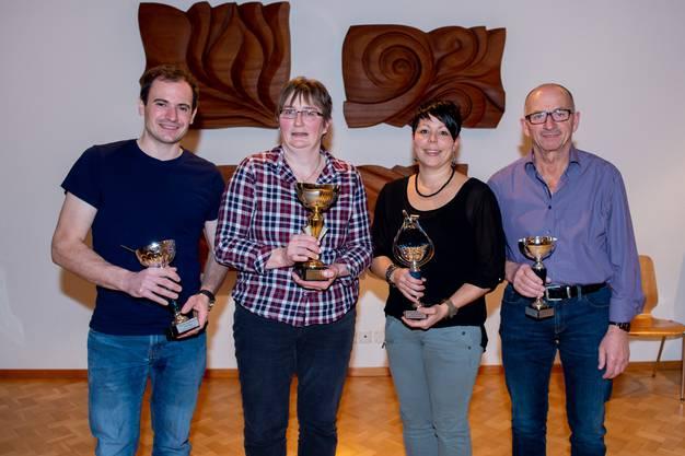 Adrian Dummermuth, Iris Brunner, Regina Fluri, Josef Kamber