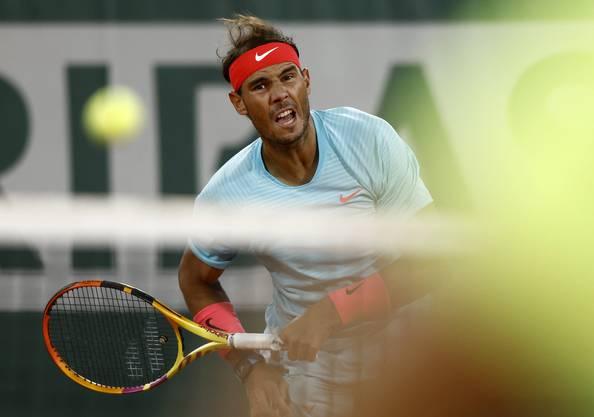 Rafael Nadal blieb bisher noch ohne Satzverlust.