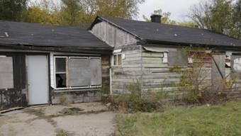 In diesem Haus in Gary wurde die Leiche eines Opfers gefunden