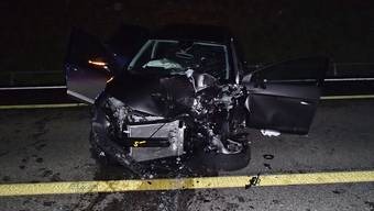 Verkehrsunfall Baden Mellingerstrasse (30.10.2018)
