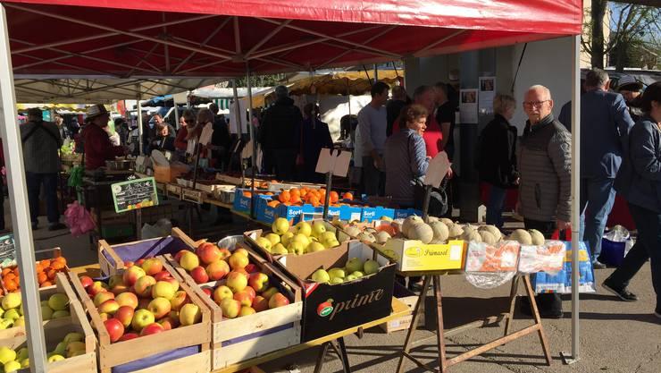 Früchte auf dem Markt von Saint-Louis