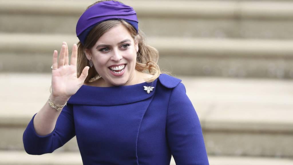 Die britische Prinzessin Beatrice hat sich in Italien verlobt. Heiraten wird sie ihren Edoardo Mapelli Mozzi im kommenden Jahr. Damit beschert sie den Briten die nächste royale Hochzeit. (Archivbild)