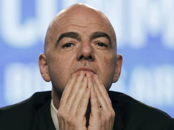 FIFA-Präsident Gianni Infantino soll Einfluss auf den Ethik-Code des Weltverbandes genommen haben