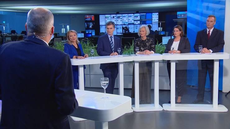 Die Umfrage bei der Aargauer Bevölkerung zeigt: Jean-Pierre Gallati (SVP) hat im Kampf um den Regierungsratssitz die Nase vor.