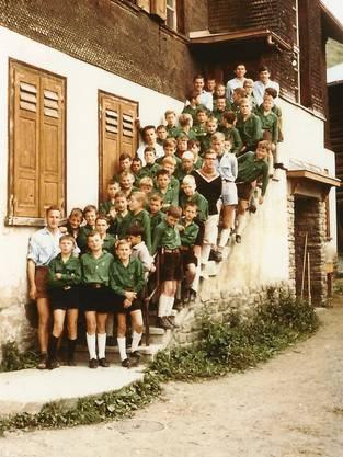 Die Jungwacht Windisch im Jahr 1966