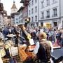 Auf solche Szenen muss Aarau dieses Jahr verzichten: «Musig i de Altstadt» ist abgesagt.