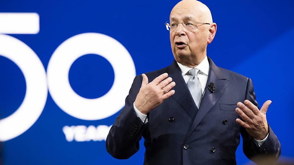 WEF-Gründer Klaus Schwab: Wann und wo er das nächste Jahrestreffen durchführt, ist  noch unklar. (Archiv).