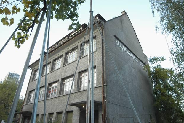 Die Kleiderfabrik Baden 2007 kurz vor dem Abriss.