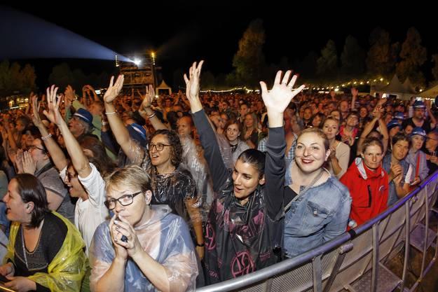 An der Magic Night 2018 auf dem Heitere Zofingen begeisterte die italienische Sängerin Gianna Nannini mit Ihrem kraftvollen Auftritt das Publikum von der ersten Minute an.