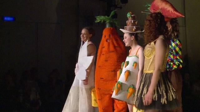 Verrückte Modeschau
