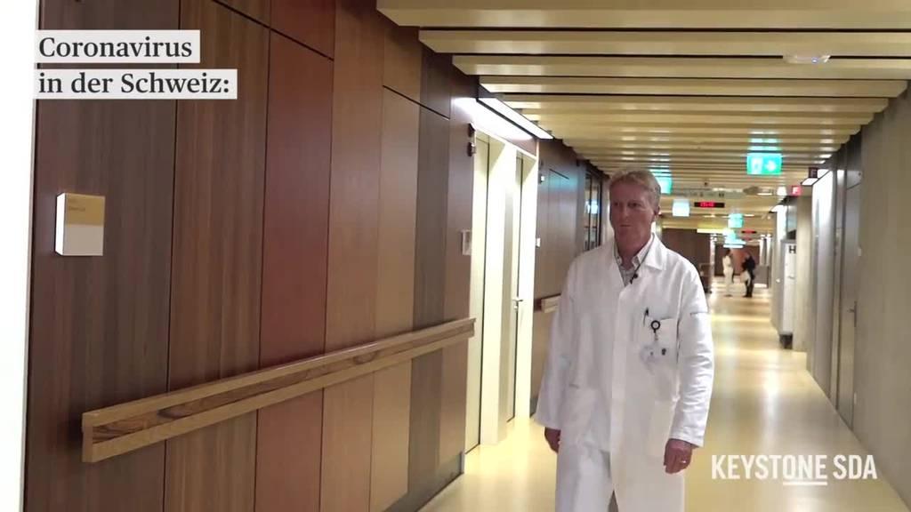 So bereitet sich das Triemli-Spital auf das Coronavirus vor