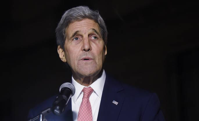 US-Aussenminister Kerry in Paris