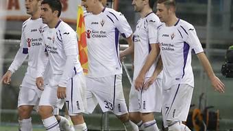 Mario Gomez (m.) Matchwinner für die Fiorentina
