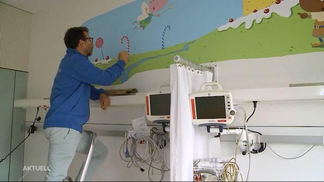Neue Kunstwerke für die Kinderklinik Aarau