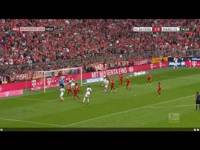 Bayern München - Mainz 1:2.