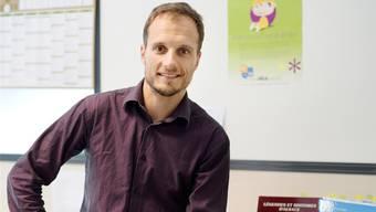 Benjamin Ludwig, der im Südelsass seit einem Jahr in den Kindergärten und Primarschulen das Elsässisch fördern soll.
