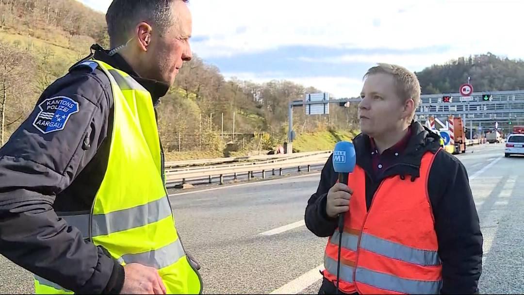 Horrorunfall am Bözbergtunnel: «Es war sofort klar, hier kommt jede Hilfe zu spät»