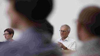 Stadtpräsident Kurt Fluri stimmte mit seiner FDP für die Steuersenkung  Foto Hanspeter Bärtschi
