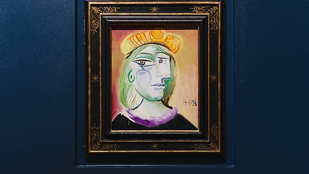 Frauengemälde von Picasso für fast 35 Millionen Euro versteigert
