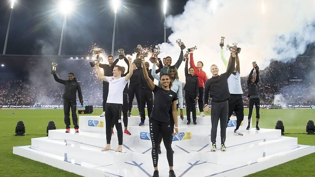 Diamond League künftig wieder mit 32 Disziplinen