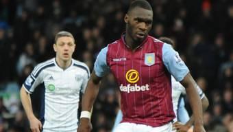 Christian Benteke erzielte das siegbringende Tor für Aston Villa