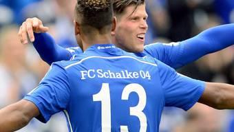 Derby-Sieg gegen BVB: Schalkes Huntelaar und Choupo-Moting (Nr. 13)