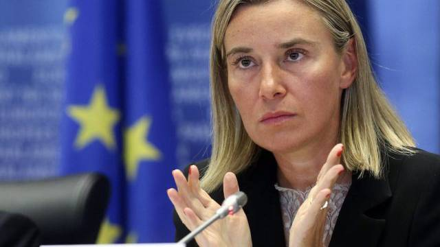 Die designierte EU-Aussenbeauftragte Federica Mogherini
