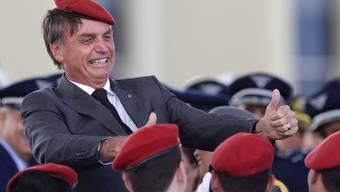 Designierter Staatspräsident von Brasilien: Jair Bolsonaro.
