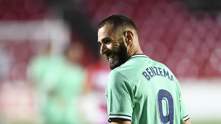 Karim Benzema hält Real auf Titelkurs