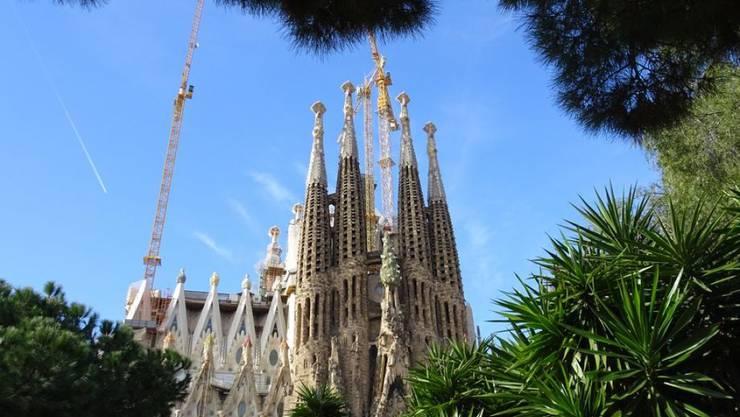 Die Sagrada Familia in Barcelona ist eine der bedeutendsten Sehenswürdigkeiten der Welt. Nun wird sie mit zusätzlichen Geräten und Sicherheitsleuten verstärkt geschützt. Aus Angst vor Terroranschlägen? (Archivbild)