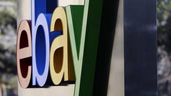 Ebay legte im ersten Quartal des laufenden Geschäftsjahres beim Umsatz zu. (Archivbild)