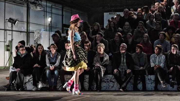 Mode für Aliens und Androgyne werden an der Graduate Show präsentiert.