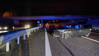 Unfall auf der A1 bei Oberentfelden am 2. Februar
