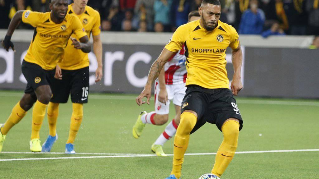 Der kurz davor eingewechselte Guillaume Hoarau erzielte das Penaltytor zum 2:2-Ausgleich