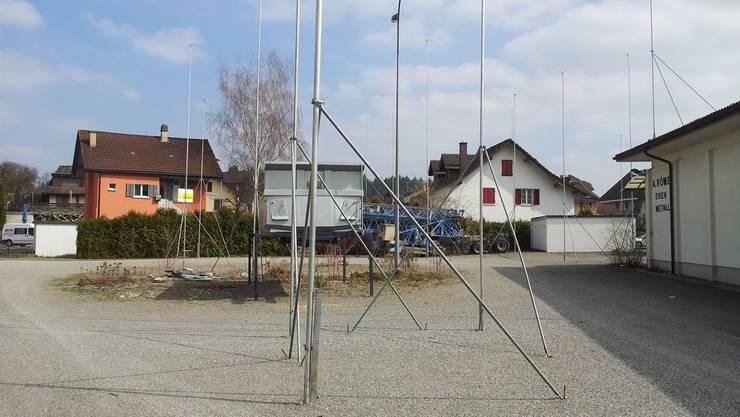 Auf dem ehemaligen Römer-Areal sind Mehrfamilienhäuser geplant.