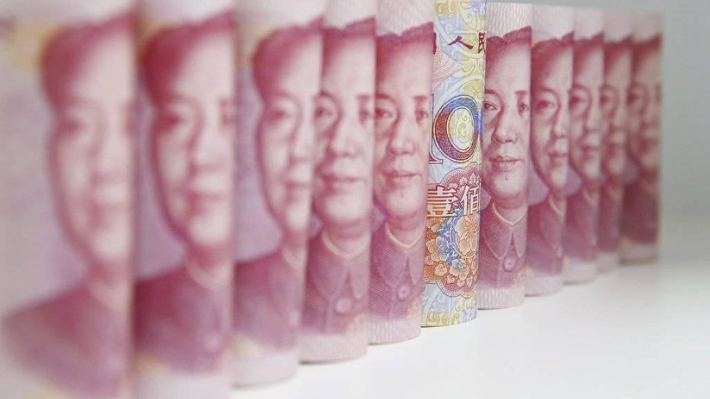 China hat den Vorwurf der USA zurückgewiesen, die Volksrepublik manipuliere seine Währung mit dem Ziel eigener Vorteile im Welthandel. (Symbolbild)