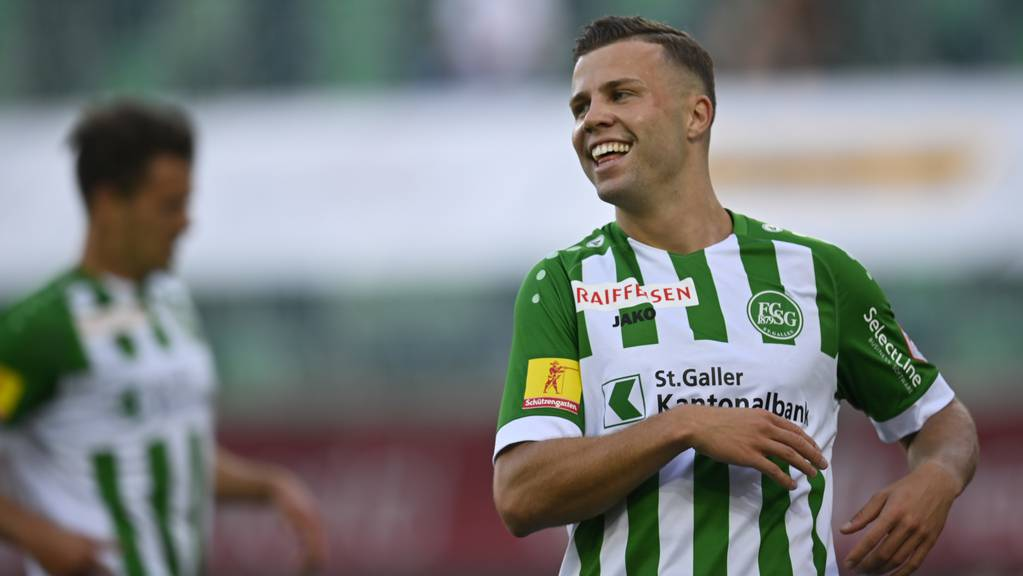 Kamberi war seit August 2020 beim FC St.Gallen unter Vertrag.