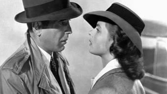 """Machte Ingrid Bergman an der Seite von Humphrey Bogar 1942 weltberühmt: """"Casablanca"""" von Regisseur Michael Curtiz (Archiv)."""
