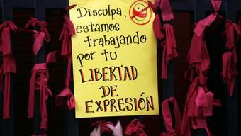Demonstration für mehr Meinungsfreiheit in Venezuela (Archiv)