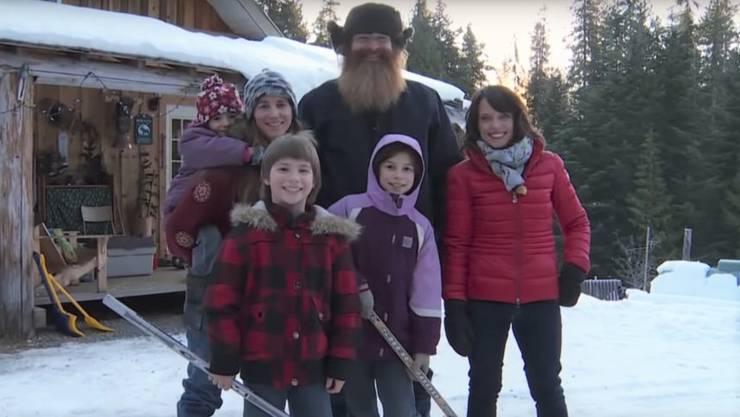 Hermann Schönbächler und seine Familie. Mittlerweile hat Schönbächler die kanadische Staatsbürgerschaft angenommen
