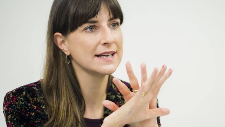 Die Waadtländer Staatsrätin Rebecca Ruiz (SP). Vor ihrer Wahl in die Kantonsregierung wurden Vorwürfe im Zusammenhang mit einem früheren Arbeitsvertrag laut. (Archivbild)