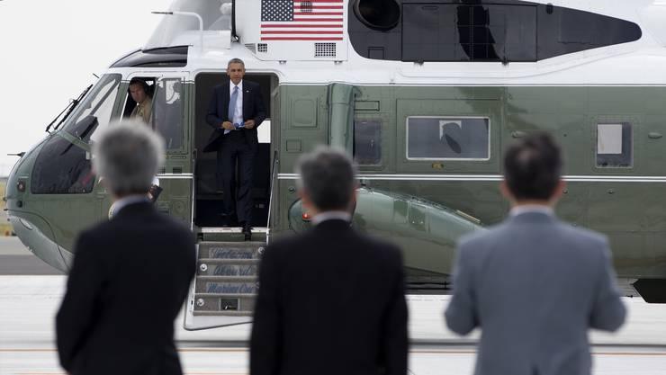 Obama ist der erste US-Präsident, der Hiroshima besucht.