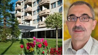 Jakob Faes, Geschäftsführer Alterszentrum: «Wir vom Alterszentrum arbeiten eng mit den Fachfrauen der Spitex zusammen.»