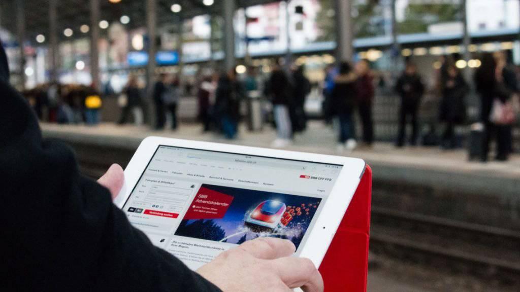 An rund 80 Bahnhöfen können Pendler das kostenlose Internet nutzen.