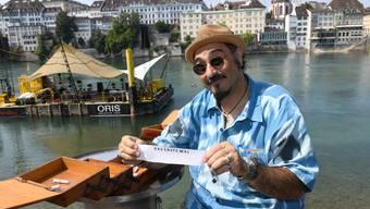 Im Nähkästchen der Schweiz am Wochenende finde sich verschiedene Begriffe als Lose. Gaetano Florio hat «Das erste Mal» erwischt.