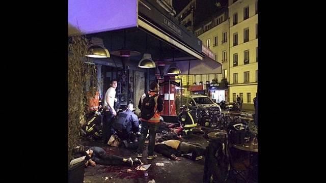 Eine Nacht voller Terror in Paris