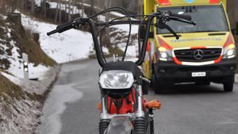 Das Unfallfahrzeug von Kienberg